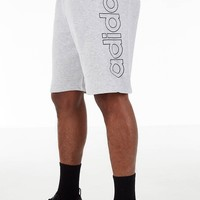 Adidas Originals Outline Block Heather Grey Heather French Terry Shorts DV3272