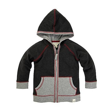 Kids Organic Cotton French Terry Zip Hoodie