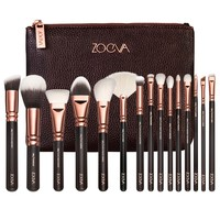 NEW ARRIVAL ZOEVA 15 PCS ROSE GOLDEN COMPLETE MAKEUP BRUSH SET-in Makeup Brushes & Tools from Health & Beauty on Aliexpress.com | Alibaba Group