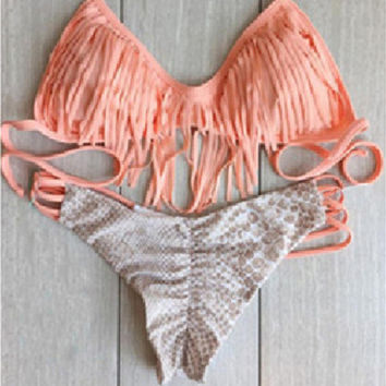 HOT TASSEL TWO PIECE BIKINIS