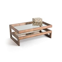 Go Home Eastwood Glass Coffee Table