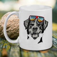 Cool Dog Mug, Tea Mug, Coffee Mug