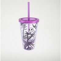 Ice Cube Jack Nightmare Before Christmas Cup With Straw - 16 oz - Spencer's