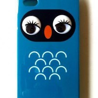 Blue Other - Owl iPhone 4 Cover | UsTrendy