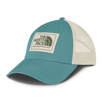 Mudder Trucker Hat in Bristol Blue, Vintage White & Four Leaf Clover by The North Face - FINAL SALE
