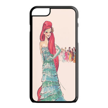 Vintage Disney Princess Ariel iPhone 6S Plus Case