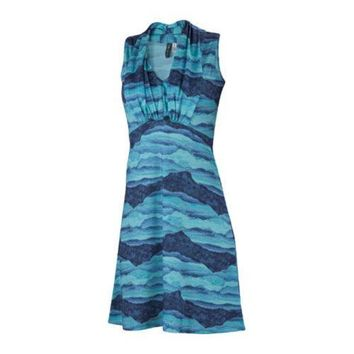 Women's Ibex Braelyn Dress Mountain/Capri | Overstock.com Shopping - The Best Deals on Casual Dresses