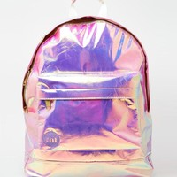 Mi-Pac | Mi-Pac Backpack in Hologram at ASOS