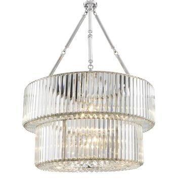 2 Tier Glass Chandelier | Eichholtz Infinity Double