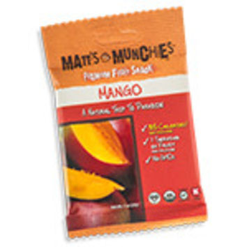 Matt's Munchies Premium Fruit Snacks Organic Mango 12 (1 oz.) packages per box