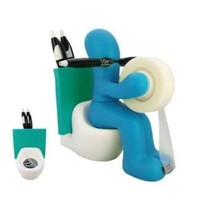 FUNNY GIFT! Supply Station Desk Accessory Holder