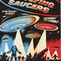 Earth vs The Flying Saucers Movie Poster 24x36