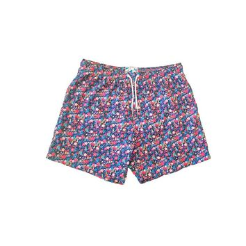 Bermies Classics Floral Trunks Blue