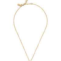 Kate Spade Say Yes Partners In Crime Pendant Gold ONE