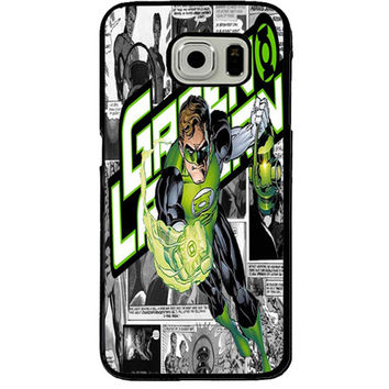 Green Lantern TPU+PC Case For Samsung Galaxy S7 Edge