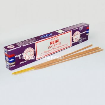 Satya Sai Baba Reiki Incense Sticks 15 Gram on RoyalFurnish.com
