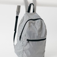Ripstop Backpack - Grey Grid