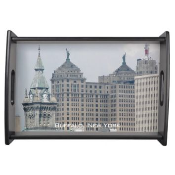 Buffalo, New York Photo Serving Tray
