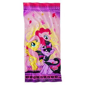Licensed cool NEW MY LITTLE PONY FLUTTERSHY PINKIE PIE TWILIGHT SPARKLE Pool Beach Bath TOWEL