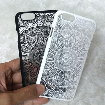 Retro Lace Floral iPhone 6 6s iPhone 6 6s Plus Case Cover + Gift Box
