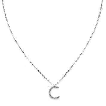 Your Initial C Necklace