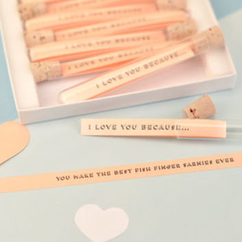 Personalised Reasons Why I Love You Paper Anniversary