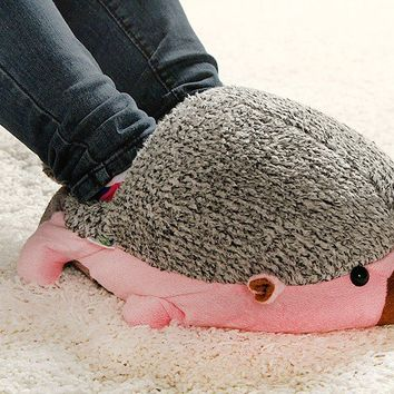 Hedgehog Baby USB Heating Shoes Warmer