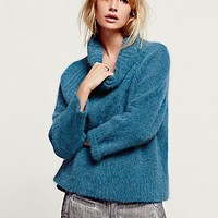 Free People Womens Cozy Luxe Turtleneck