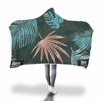 Graphic Hooded Blanket by Bare Culture Apparel