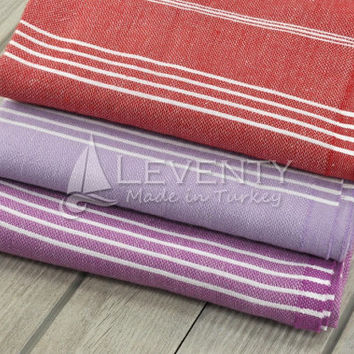 Cotton Throw Wrap Set of 3 Washcloth for Body Large Towel Natural Handmade Throw Blanket Bath Towel Teacher Gitfs Spa Cloth Winter Towel