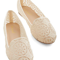 ModCloth Reverie Step You Take Flat