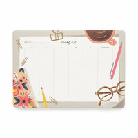 Desktop Weekly Desk Pad