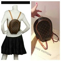 Louis Vuitton Auth Monogram Ellipse Sac A Dos Backpack 86% off retail
