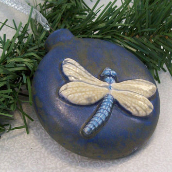 Ceramic Dragonfly Ornament