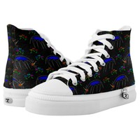 Smell The Flowers Unicorn High-Top Sneakers