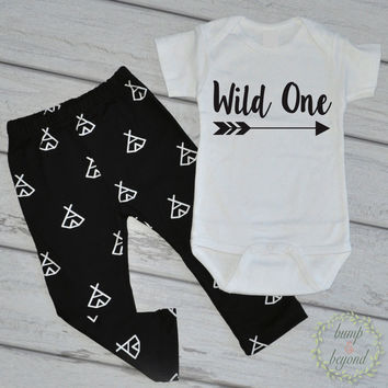 Cake Smash Outfit Boy Wild One First Birthday Shirt Modern Baby Boy Clothes Birthday Boy Outfit Set Wild One Birthday One Piece, Pants 111