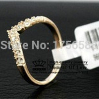 18K Gold Plated Heart Ring
