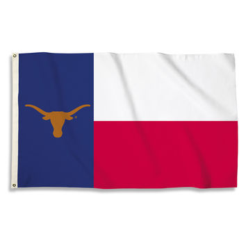 Texas Longhorns 3 Ft. X 5 Ft. Flag W/Grommets