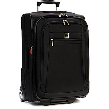 "Delsey Helium Hyperlite 20"" Carry-On 2-Wheeled Trolley - Black 20"" Car"