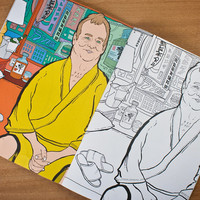 Thrill Murray Colouring Book at Firebox.com