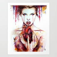 Can Your Heart Still Break? Art Print by Andrea Benge Art
