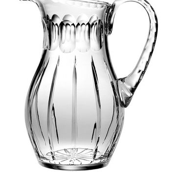 Majestic Gifts JO-162 Hand Cut Crystal 48 oz. Pitcher