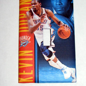 Light Switch Cover - Light Switch Plate Kevin Durant OKC Thunder Basketball