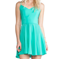 Amanda Uprichard EXCLUSIVE Bowery Dress in Green