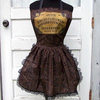 Ouija Board Apron Mystical Oracle Goth Halloween Costume Party