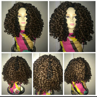 Marley crochet wig big hair