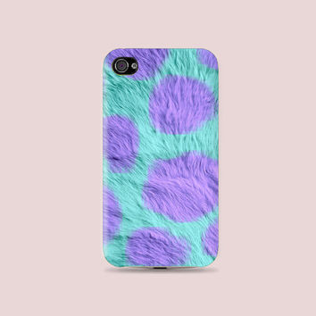 MU Collections: Sulley Fur Plastic Hard Case - iphone 5 - iphone 4 - iphone 4s - Samsung S3 - Samsung S4 - Samsung Note 2
