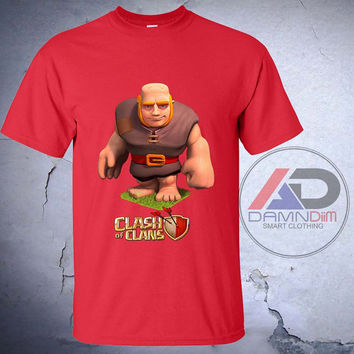 Clash Of Clans Giant, Clash Of Clans Giant tshirt, Clash Of Clans Giant shirt, Tshirt youth, kids tshirt, and Adult Tshirt