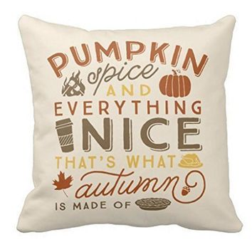 Happy Halloween Pillow Cases  Linen Sofa Cushion Cover