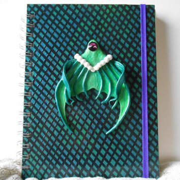 Fantasy mermaid notebook, Mermaid notebooks, Fantasy notebook, mermaid, original notebook, fantasy journal, journal, notebook, mermaid gift